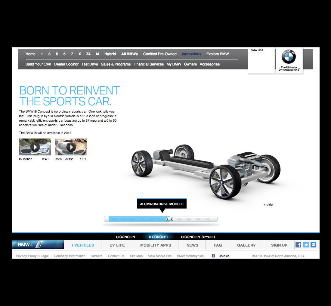 BMW i Concept Copy